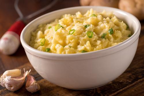 Garlic Mashed Rutabagas