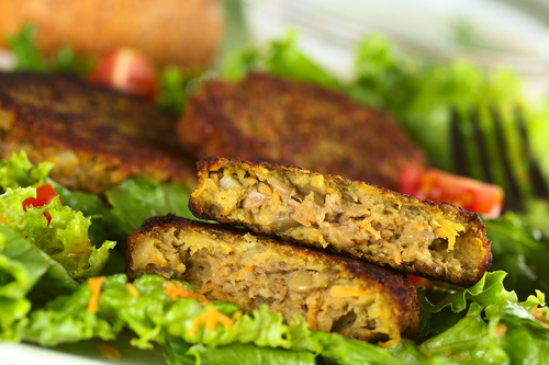 Our Perfect Veggie Burgers (OhSheGlows)