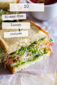 gluten free lunch recipes