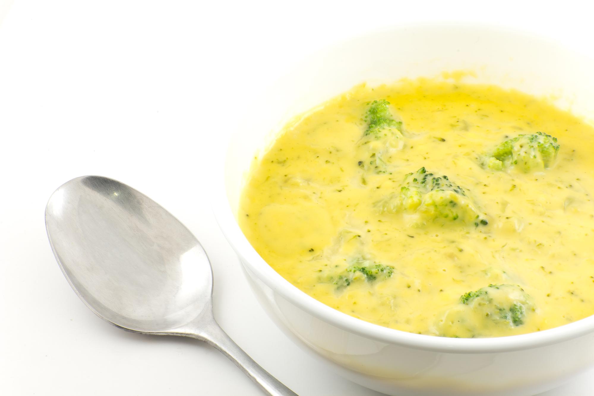 Keto Broccoli & Cheese Soup
