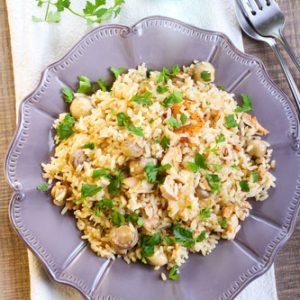 Instant Pot Squash and Rice Casserole