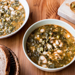 Vegetarian Kale Soup