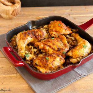 AIP Chicken Bacon Cabbage Skillet