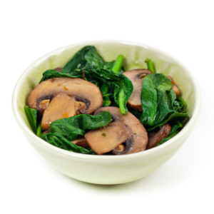 Italian Mushrooms and Spinach