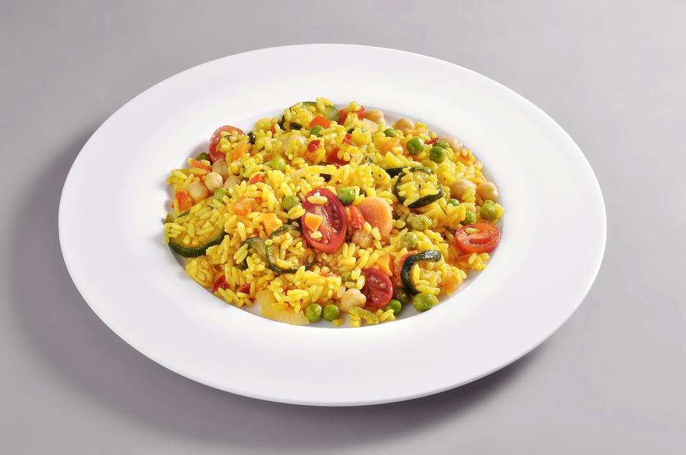 Artichoke and Tomato Paella