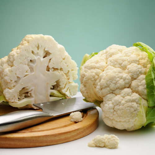 Easy Baked Cauliflower French Style