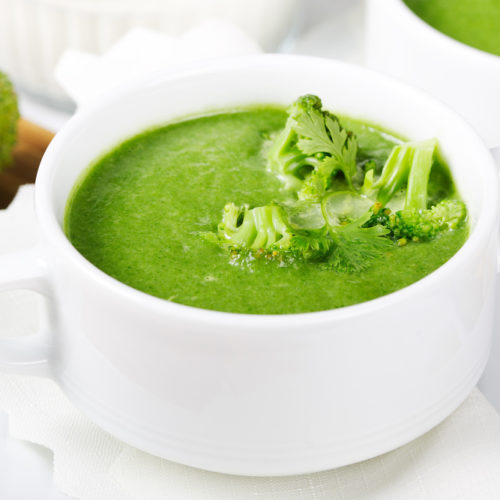 "Vegan ""Cream"" of Broccoli Soup"