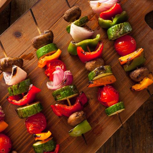 Vegetable Kebobs