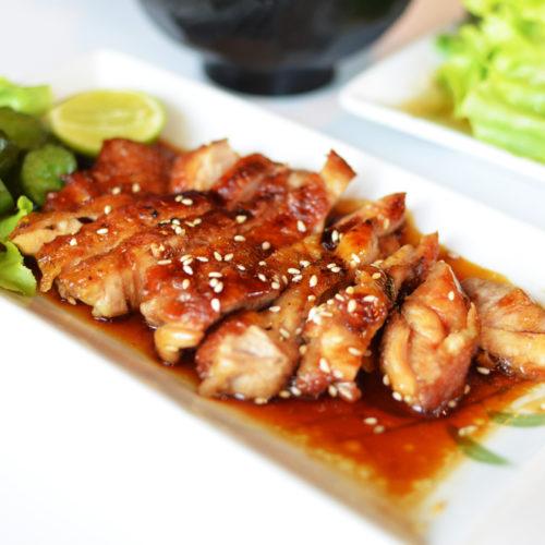 Korean Grilled Chicken Breasts