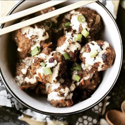 Eggroll Meatballs