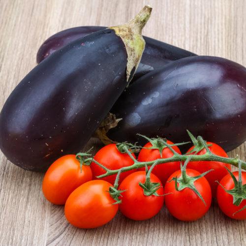 Provencal Eggplant-Tomato Gratin