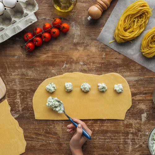 Gluten Free Spinach Ricotta Ravioli
