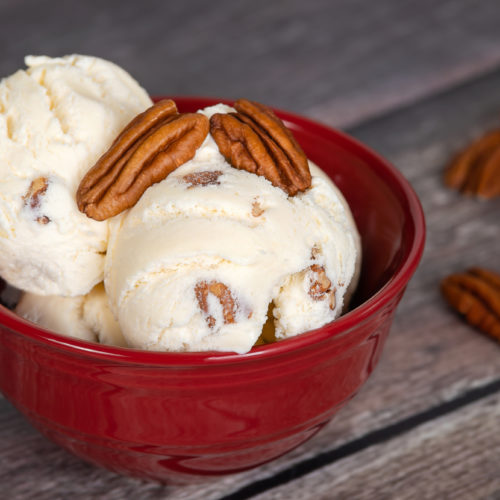 Low Carb Butter Pecan Ice Cream