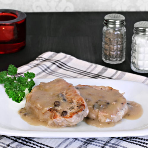 AIP Pan-Fried Pork Medallions with Sage and Cream