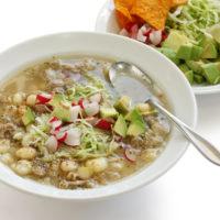 Chicken Corn Verde Soup