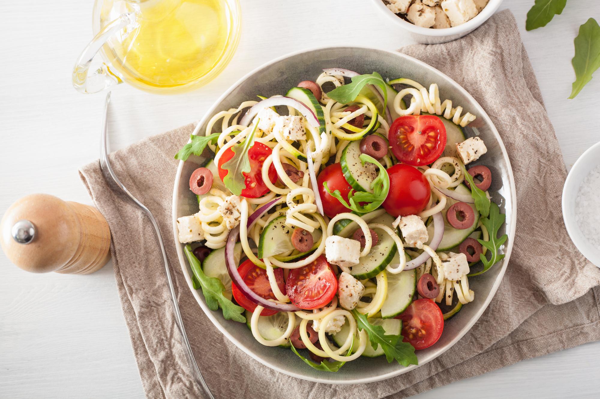 Depositphotos 158030416 l 2015 Spiralized Greek Salad