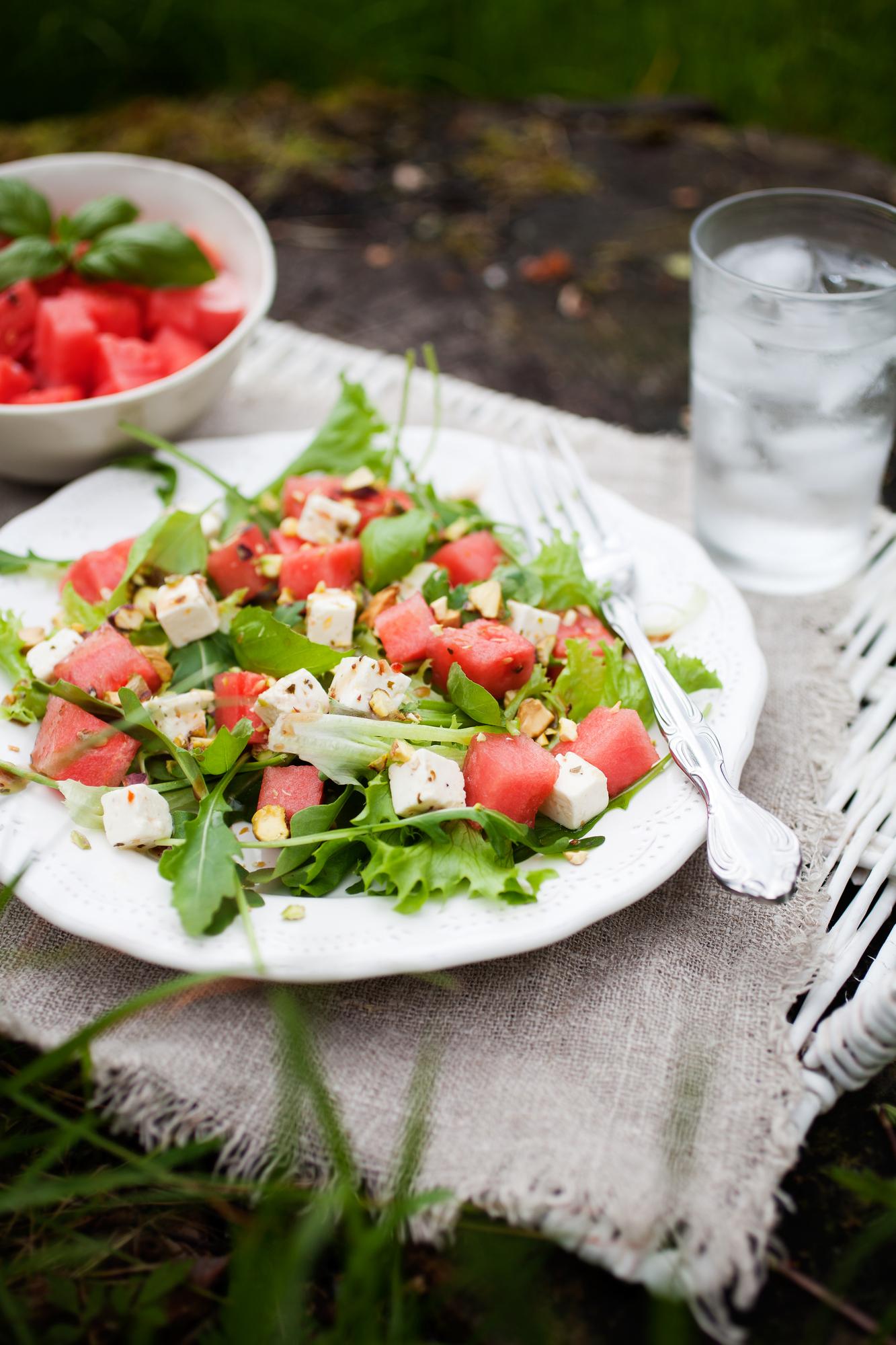 Depositphotos 76763899 l 2015 Balsamic Watermelon Feta Salad