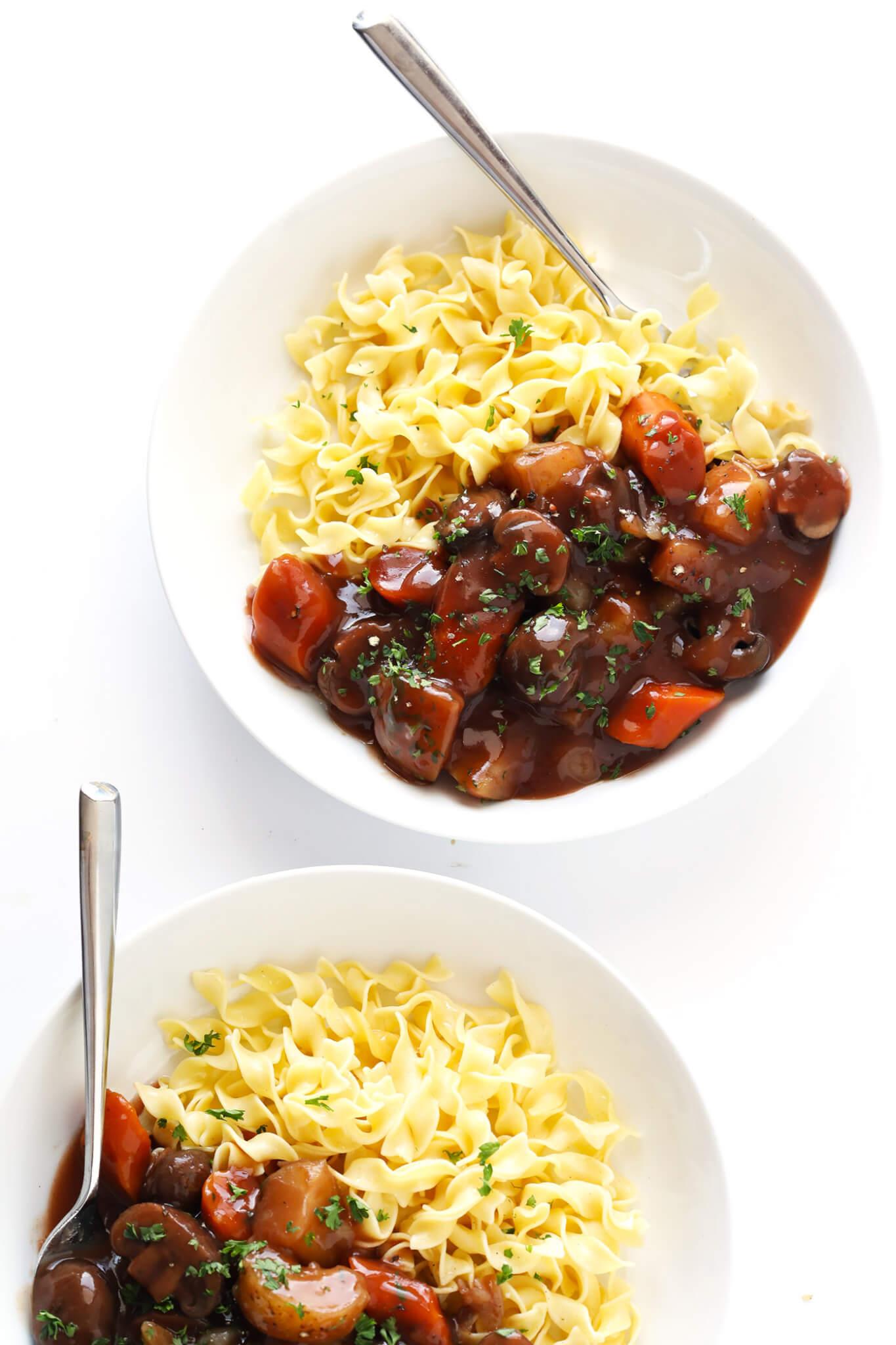 Vegetarian Mushroom Portobello Pot Roast Recipe 4 Vegetarian Portobello Pot Roast