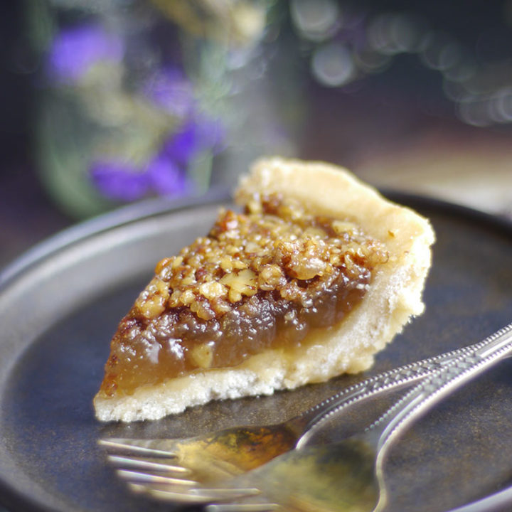 Canadian Maple Pie Recipe grain free gluten free dairy free refined sugar free 20 Real Food Thanksgiving Recipes