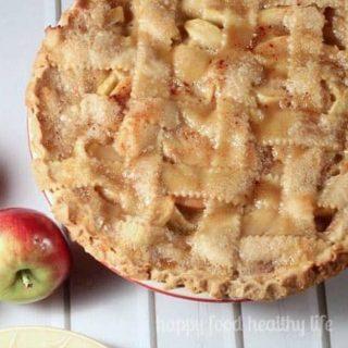 Caramel Apple Pie 8 WM 20 Real Food Thanksgiving Recipes