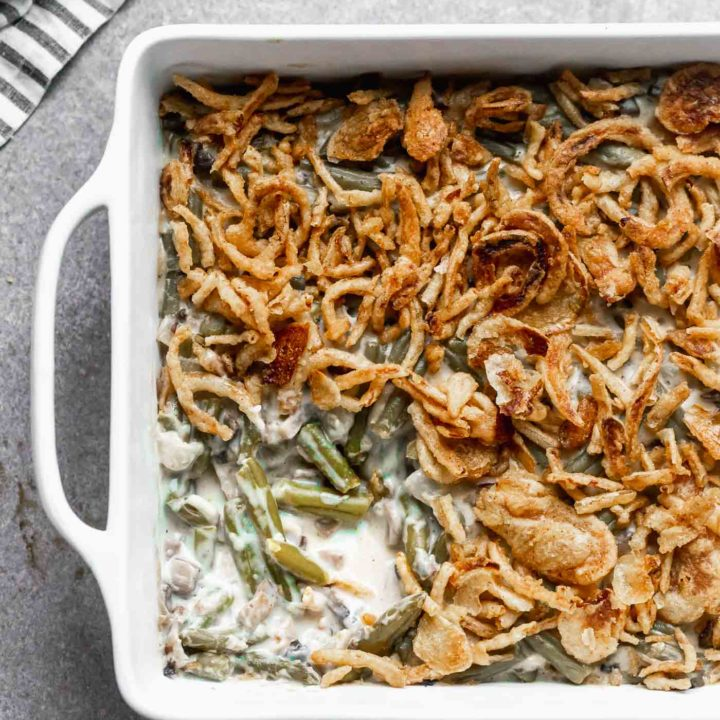Homemade Green Bean Casserole 5 1 20 Real Food Thanksgiving Recipes