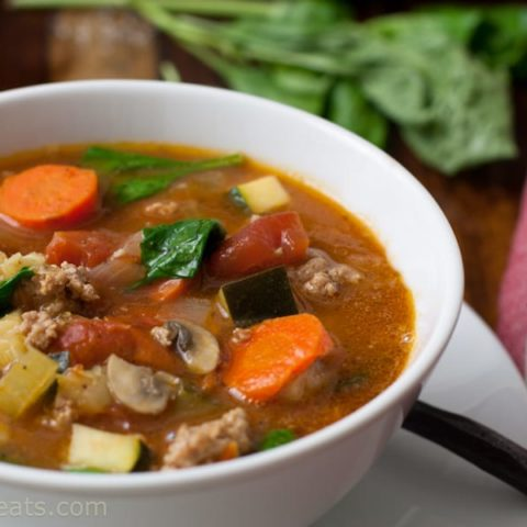 Italian Sausage Soup with Pistou 1 10 Whole30 Recipes You'll Love