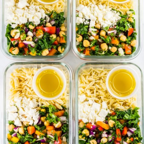 Lunch Meal Prep Chickpea Orzo Salad 4 10 Easy Meal Prep Recipes