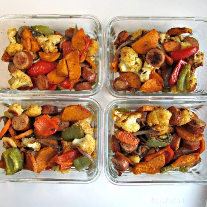 Sheetpan Turkey Sausage With Veggies 10 Easy Meal Prep Recipes
