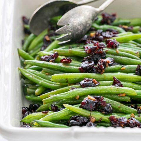 Green Beans with Cranberries 8 20 Gluten-Free Thanksgiving Recipes